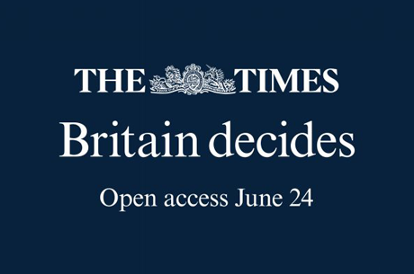 Free access to thetimes.co.uk for 24 hours