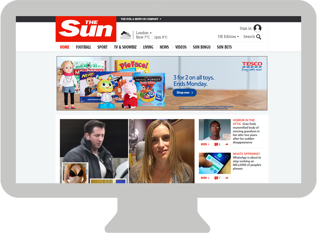 The Sun – HPTO - Billboard