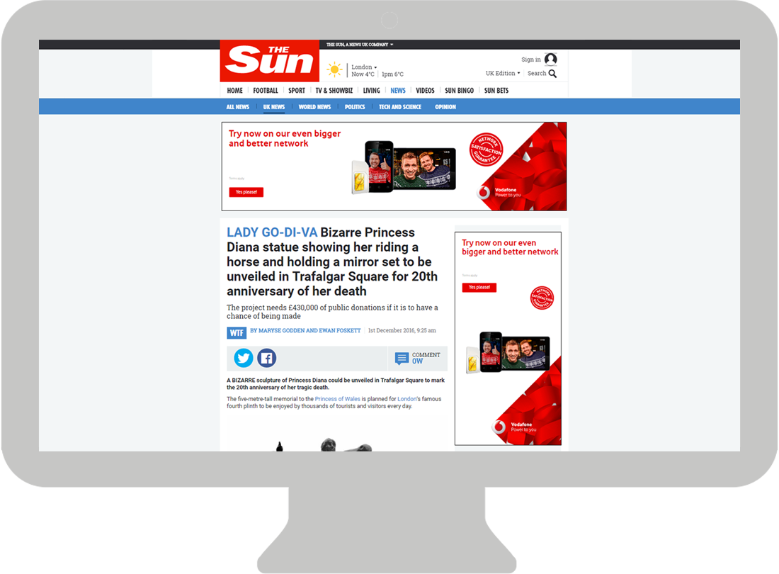 The Sun – Desktop - Billboard / DMPU