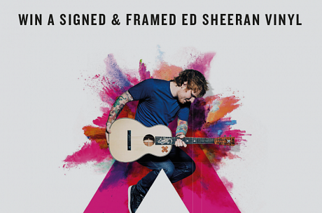 Win a signed vinyl by News Château headliner Ed Sheeran
