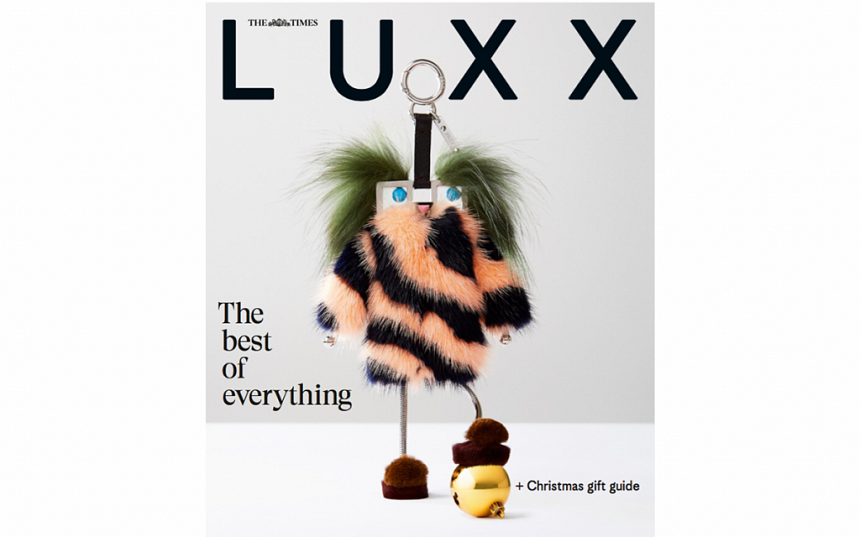 LUXX magazine returns to The Times this Saturday