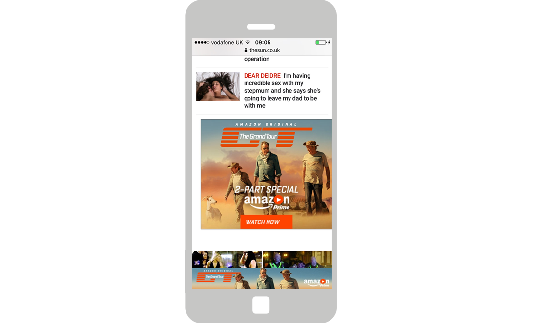 Format/Targeting: Mobile Banner and MPU