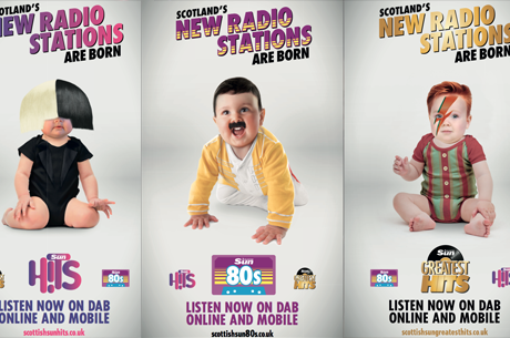 Three Scottish Sun music stations go live