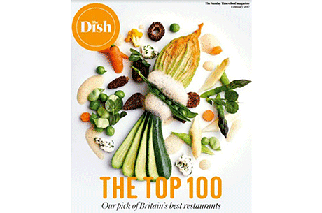 The Sunday Times Top 100 Restaurants released