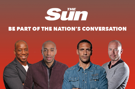 Euro 2016 with The Sun - be part of the nation's conversation