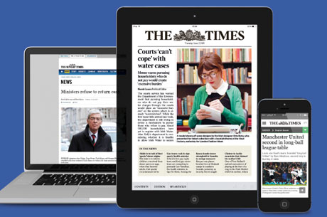 The Times launches Irish digital edition