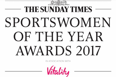 The Sunday Times Sportswomen of the Year Awards 2017 shortlists announced